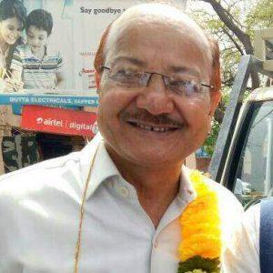 संघर्ष समिति संयोजक नवीन वर्मा