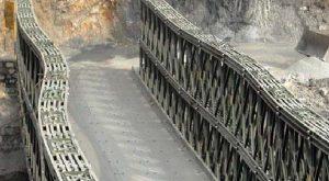 कुछ दिन पहले बना वैली पुल