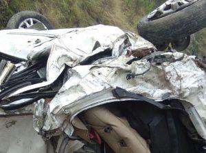 दुर्घटनाग्रस्त कार