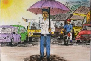 सुनीता नेगी की चित्रकारी