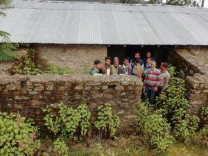 स्कूल का जर्जर भवन