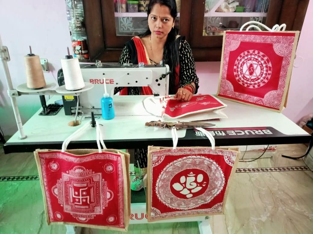 हल्द्वानी की महिला उद्यमी रूबी भटनागर